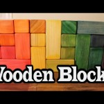 Do-it-yourself Wood Blocks ~ Easy Wooden Toy