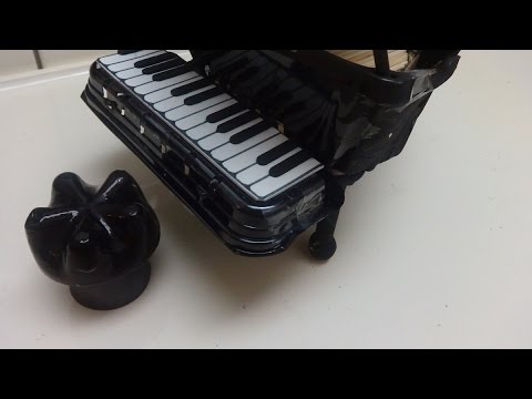Recycled Crafts Ideas: Making Grand Piano
