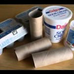 Recycled craft making ideas for kids