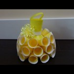 Recycling Ideas: Beautiful Dress out of Plastic Bottles and Cups