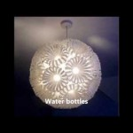 DIY lights and lamps with recycled materials