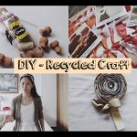 DIY: Recycled Craft Ideas for Room Decor | Kimomile