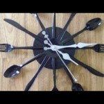 Create a Fun Recycled Cutlery Clock – DIY Home – Guidecentral