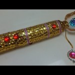 Recycled Bottles Crafts: Krishna's Flute