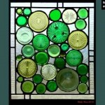 Recycled Glass Bottle Art | Set Of Pictures Ideas
