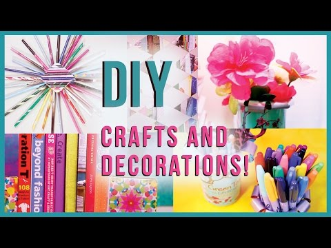 Diy crafts room decorations recycled edition many diy for Recycled room decoration crafts