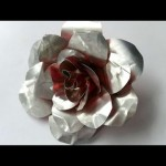 How To Create Recycled Metal Rose – DIY Crafts Tutorial – Guidecentral