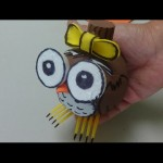 DIY Crafts: Cute Owl –  Recycled Bottles Crafts