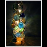 DIY Soda/Wine Bottle Night Light (Recycled Christmas Lights Idea #1)