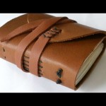 How To Make A Miniature Recycled Paper Leather Journal – DIY Crafts Tutorial – Guidecentral