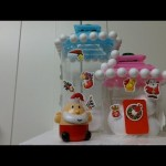 DIY Recycled Crafts: Making a Cute Ice Townhouse for Santa