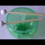 Recycling Activities for Kids: Timpani Drum-Easy Plastic Bottles Crafts