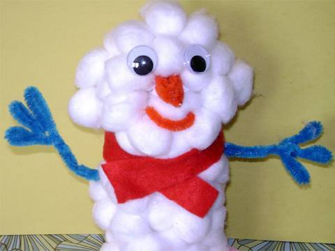 How to make a recycled snow doll – EP