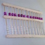 How to make a Chinese Abacus using recycled  BBQ  sticks – EP