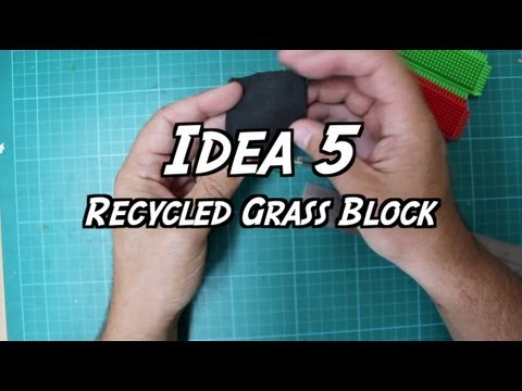 101 Ideas for Minecraft Learners – Five – Recycled Grass Block