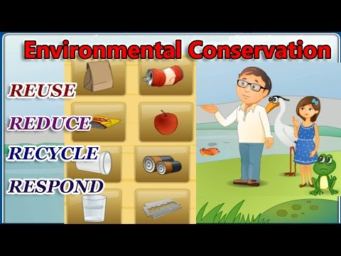 Environmental Conservation, The 4 R's – Reduce, Reuse, Recycle, Respond