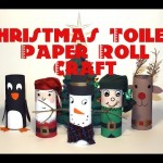 DIY Christmas Decorations : Recycled Toilet Paper Roll Craft