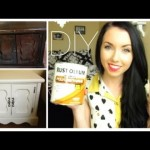 Diy: How to Repaint your Home furniture With no Sanding!   thataylaa