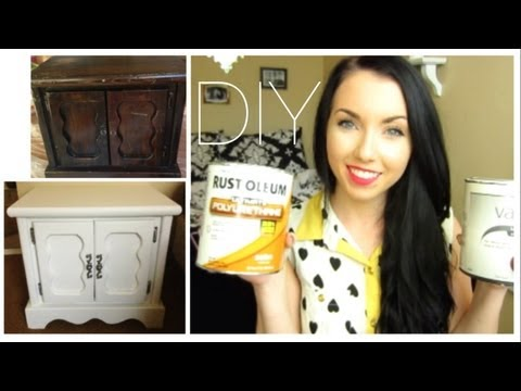 Diy: How to Repaint your Home furniture With no Sanding! | thataylaa