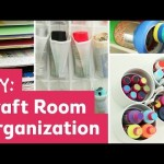 DIY Craft Room Organization