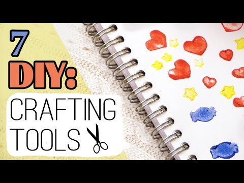 DIY: 7 Crafting Tools | Stamps | Mini Cutter | Dotting Tools