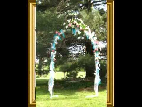 Do-it-yourself Wedding day arches thoughts