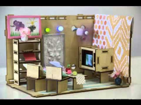 Do-it-yourself dolls home furniture jobs ideas