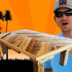 How to Make a Coffee Table out of Pallet Wood: Project 5 Paint/Distress/Antique Household furniture