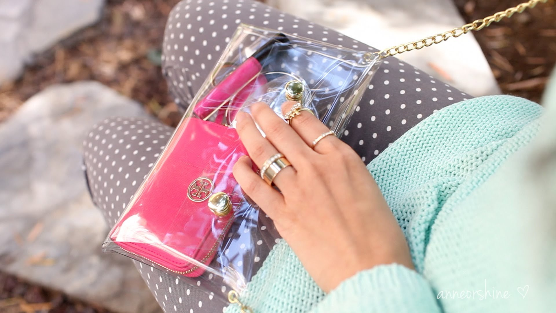 Diy Extras: How to Make a Adorable Apparent Crossbody Clutch | ANNEORSHINE