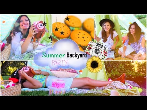 Summertime Ladies Evening Get together! | Do-it-yourself Treats, Outfits, Decorations + a lot more