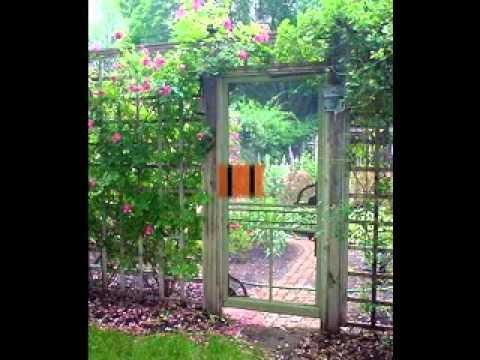 Do-it-yourself decorating Tips for Modest back garden gates