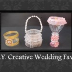 D.I.Y. Effortless Resourceful Marriage ceremony Favors suggestions