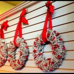 $5 Holiday Christmas Wreath How To DIY Crafting Adorable Easy Snow Wreath Idea Tips