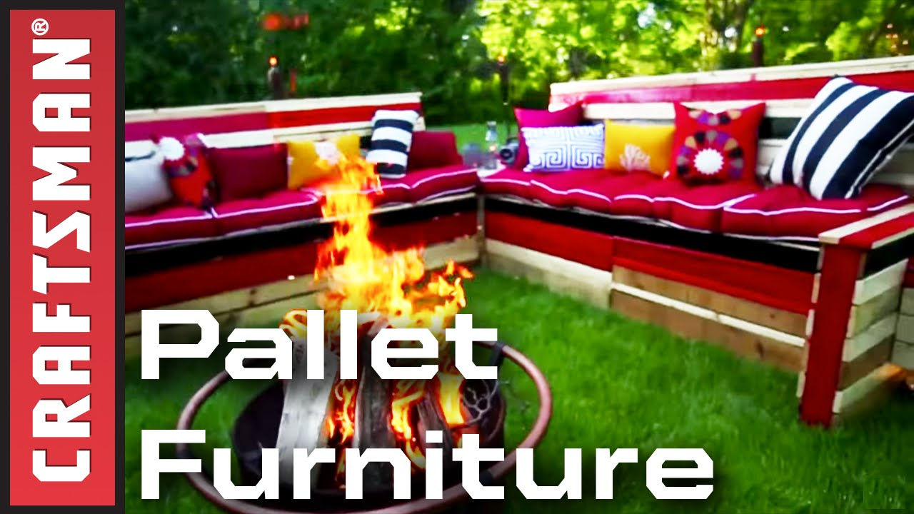 How to Establish Pallet Home furnishings for Your Patio | Craftsman