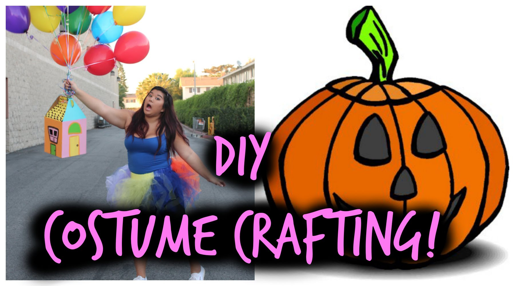 CRAFTING DIY HALLOWEEN COSTUMES!!