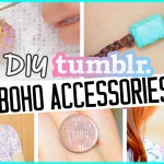 Diy bohemian equipment! Tumblr motivated bracelet, ring & necklaces!
