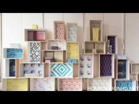 25 Remarkable Do it yourself Household furniture Makeovers With Wallpaper