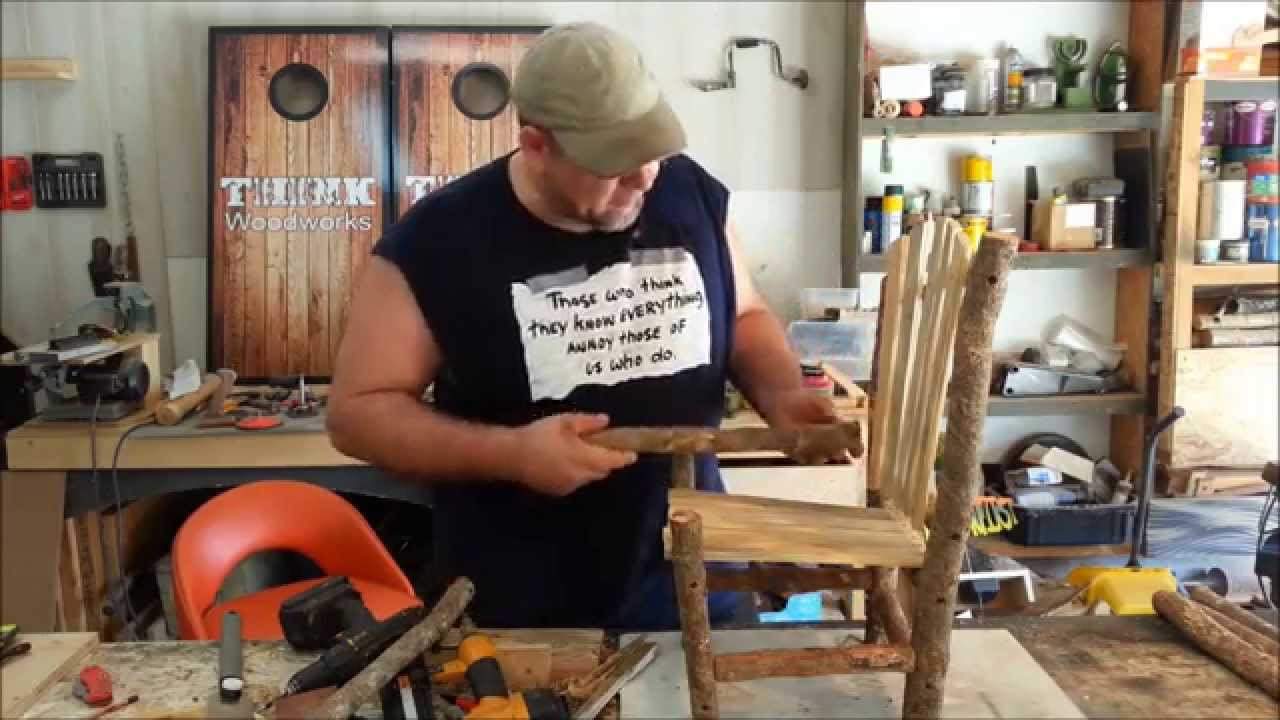 Do it yourself – Little Rustic Chair – With Limited Tools
