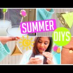 Entertaining and Uncomplicated Summer DIYs! Diy Extras, Piñata, Drinks & More! 2015