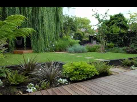 Do it yourself Modern backyard garden design ideas