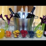 Do-it-yourself Champagne Bar Tips for Your Marriage! | Happiest Hour