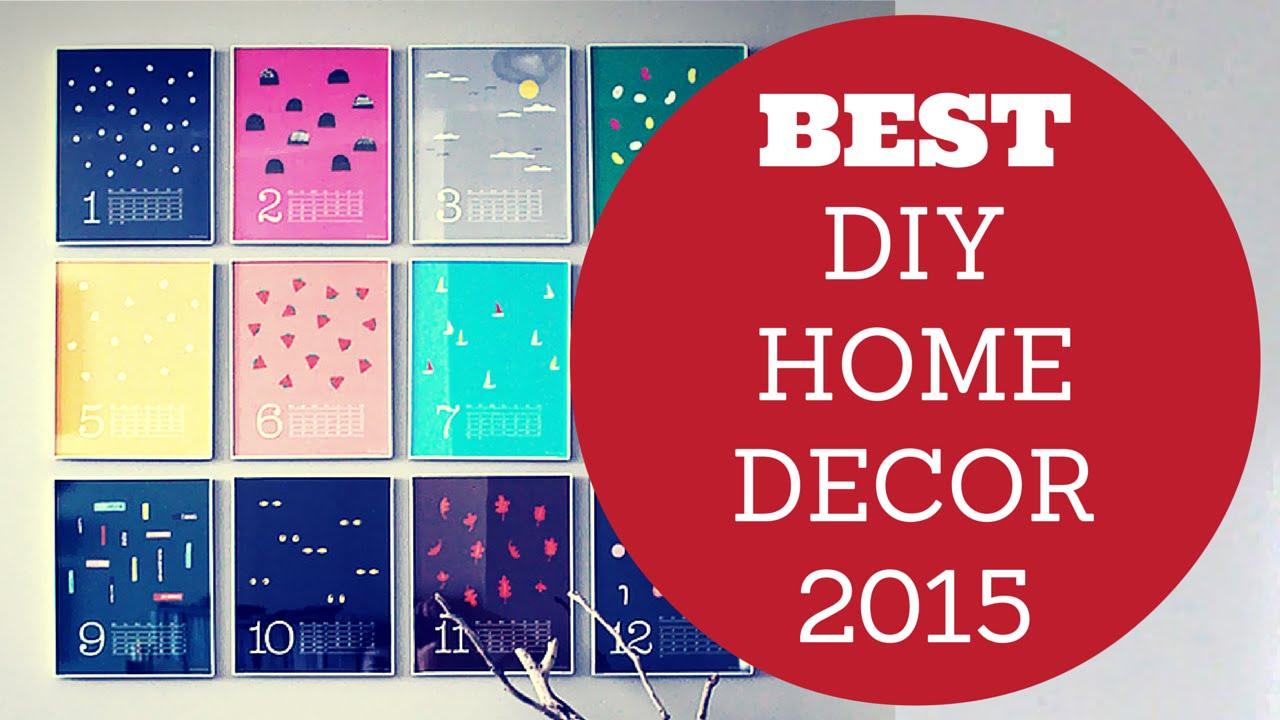 Most effective Do it yourself Home Decor Concepts 2015