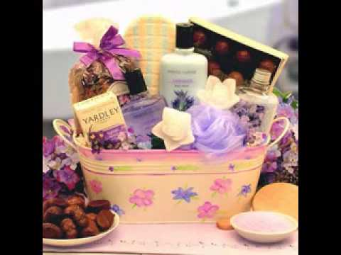 Do it yourself Wedding shower reward basket ideas