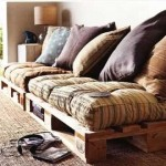 Pallet Sofa Cushion | Do it yourself Shots Of Pallet Home furniture Selection