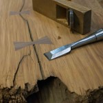 Woodworking, Do it yourself Bow tie Splines, Stay Edge Home furniture