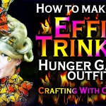 Disney Princess Hunger Games: DIY Effie Butterfly Dress – Crafting With Cocktails (3.06)