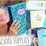 Do-it-yourself School Materials! + Again To School Area Decorations