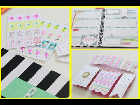 Do-it-yourself Planner accessories | Reasonably priced tips | MsBtrendy