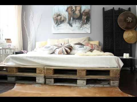 Pallets Home furnishings Bed | Picture Assortment Suggestions Of Home furnishings Romance