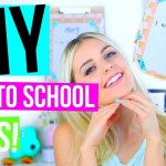 Do-it-yourself Back to School Projects! Materials, Area Decor & Garments! | Aspyn Ovard